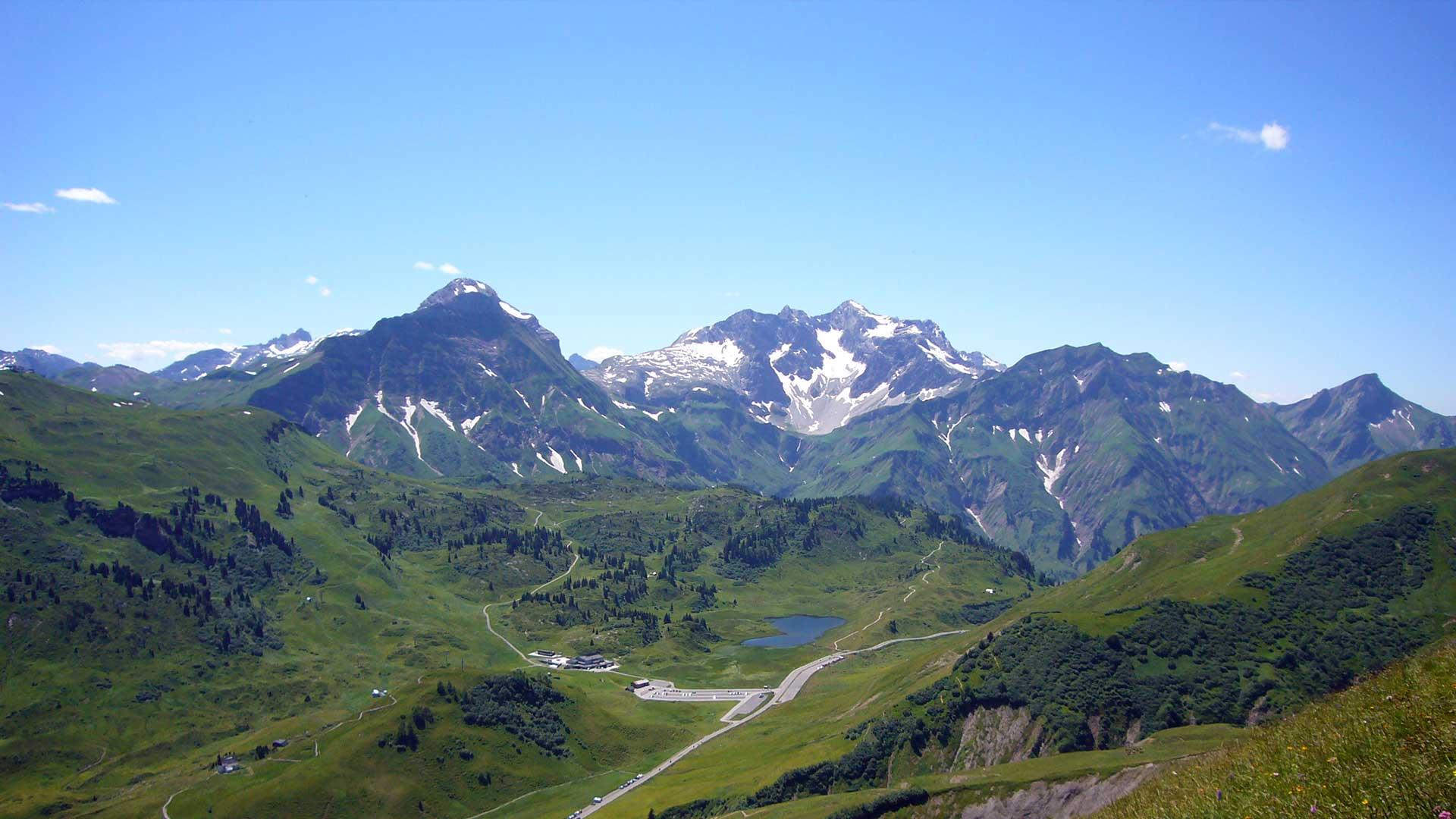 Kleinwalsertal, Allgäu und der Bregenzerwald