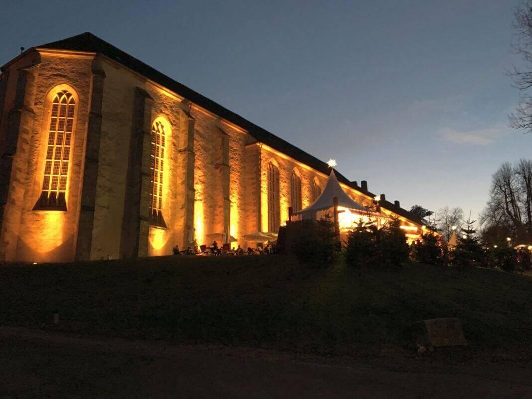 Winterzauber Kloster Dalheim