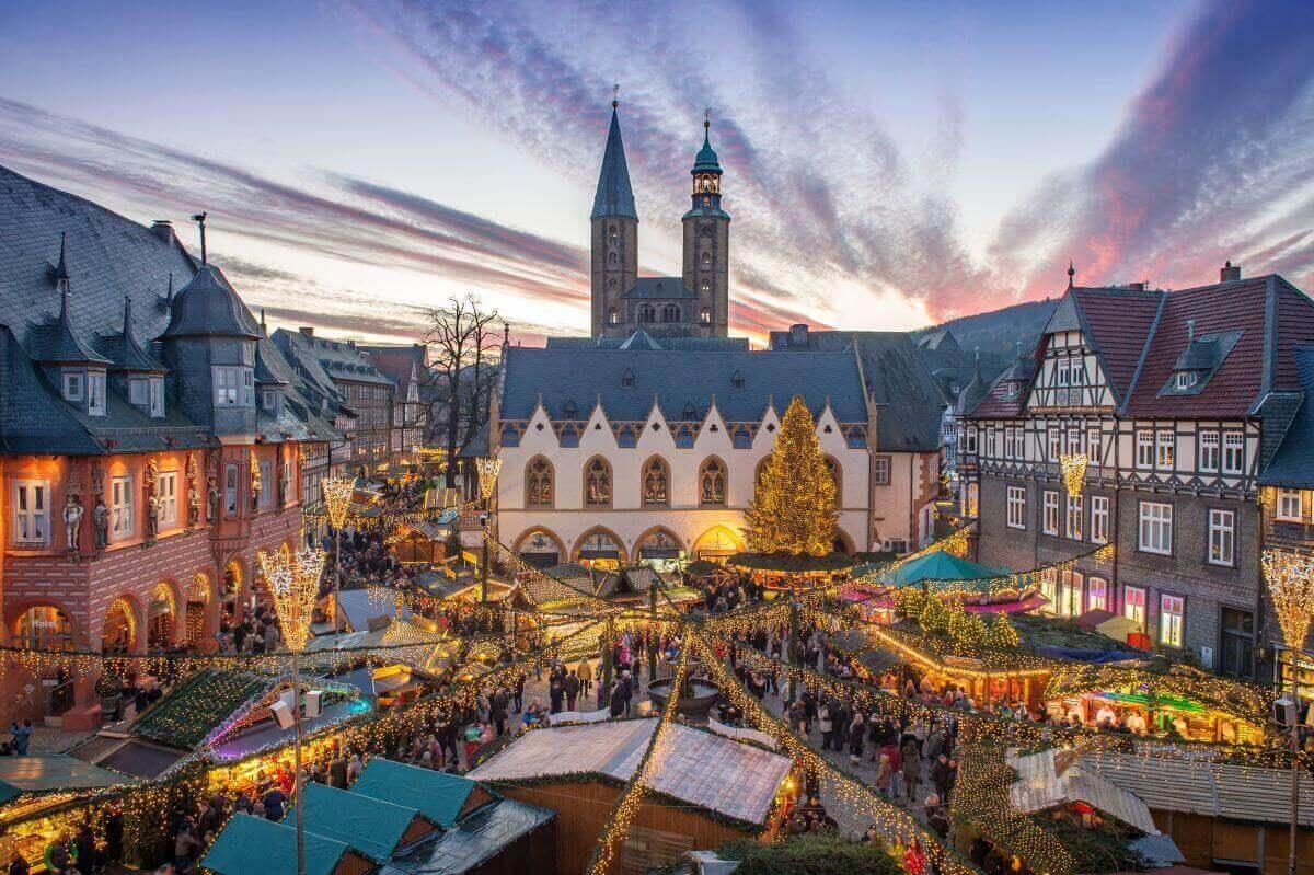 Weihnachtszauber in der Kaiserstadt Goslar