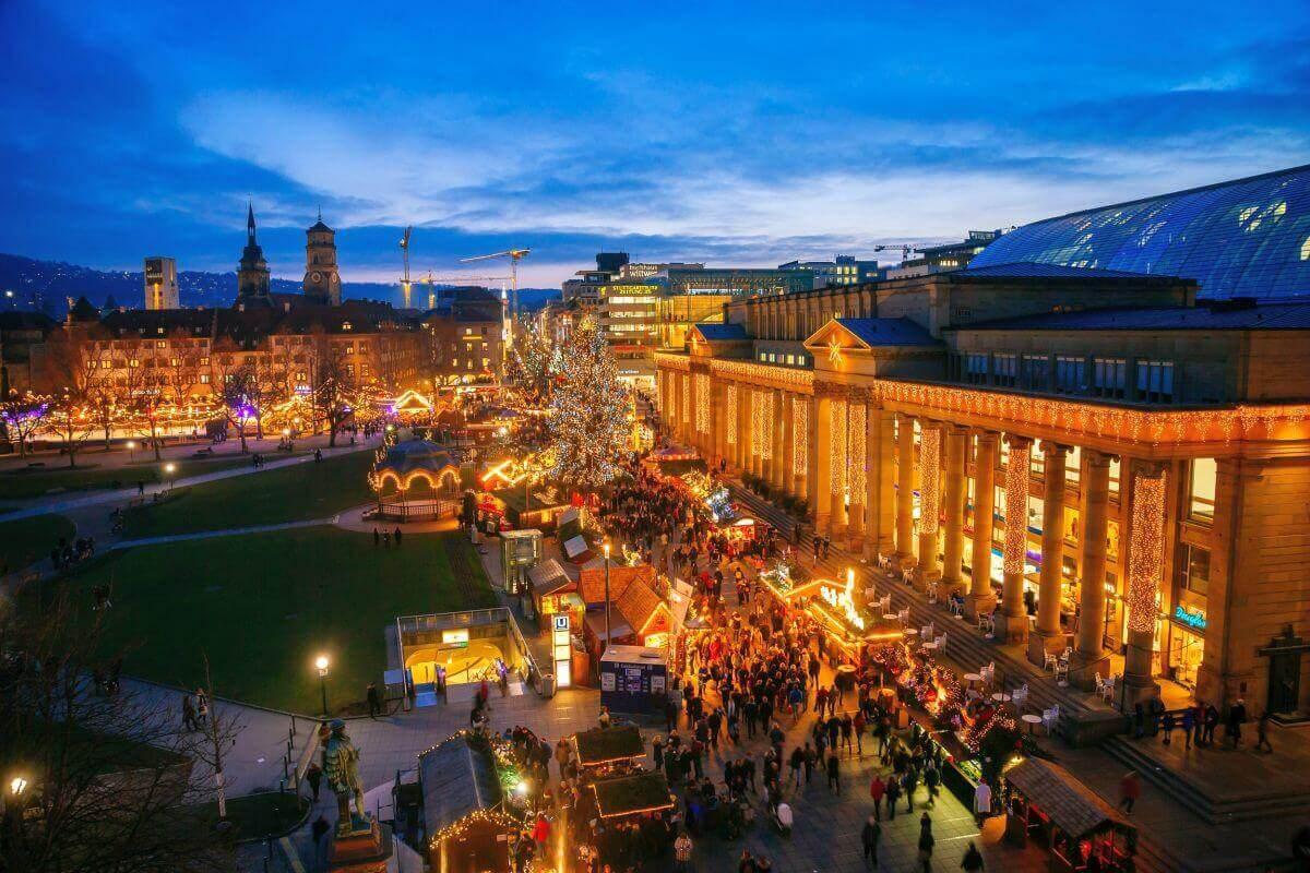 Ludwigsburger Barockweihnacht & Stuttgarter Weihnachtsmarkt
