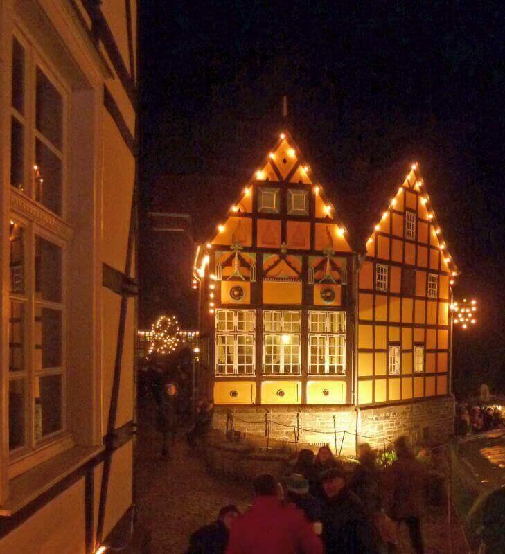 Romantischer Weihnachtsmarkt im Freilichtmuseum Hagen