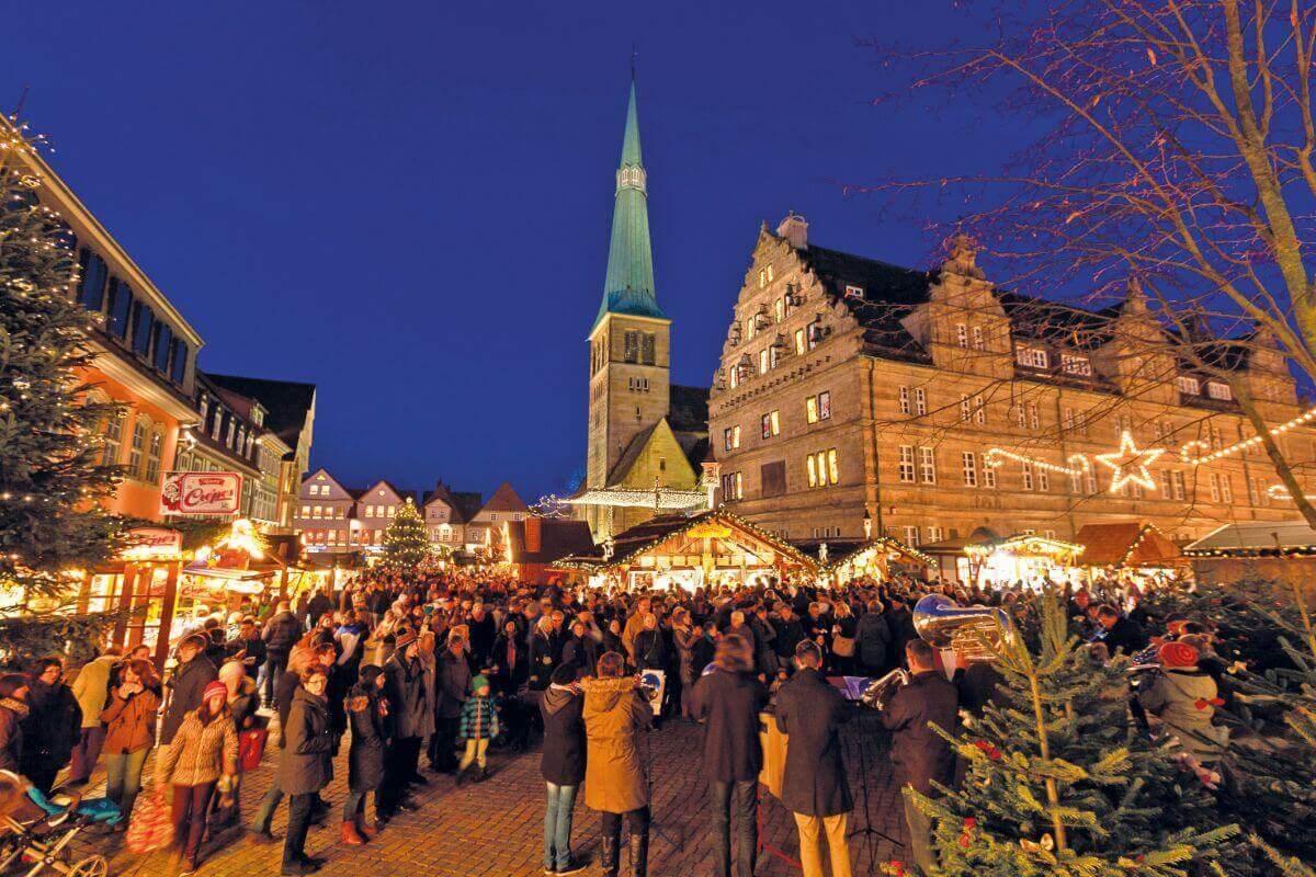 Weihnachtsmarkt in der Rattenfängerstadt Hameln