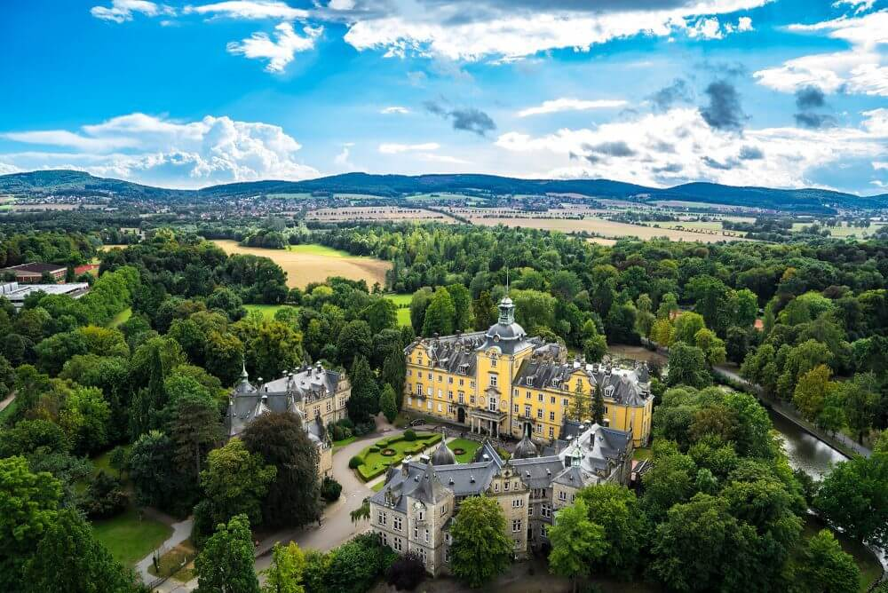 Landpartie auf Schloss Bückeburg