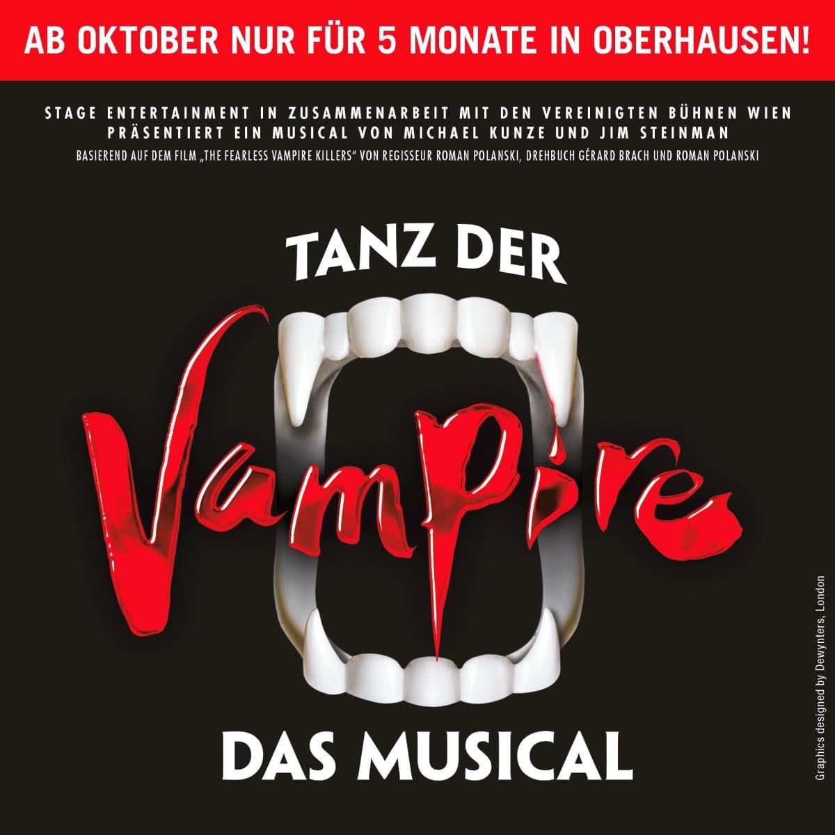 """Weihnachtsmarkt Centro Oberhausen & Musical """"Tanz der Vampire"""" (optional)"""