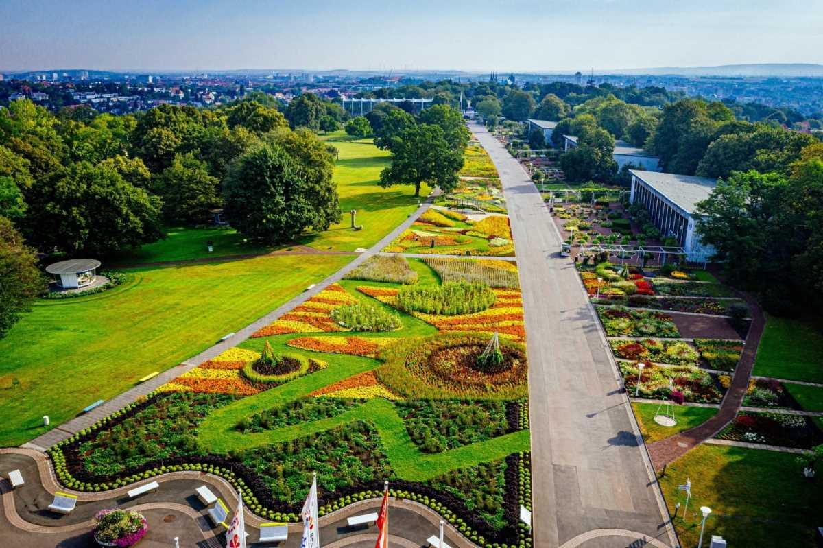 Gartenträume und Kultur in Thüringen – BUGA Erfurt 2021